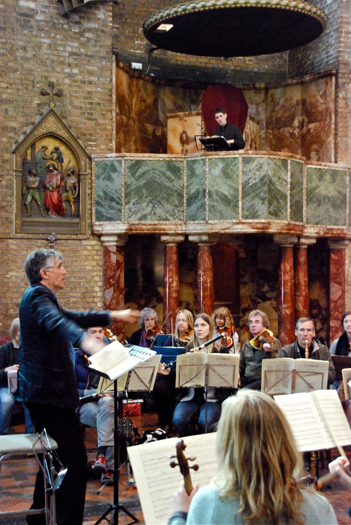 John Hancorn, conductor; Andrew Griffiths, Evangelist ; Bach: St Matthew Passion